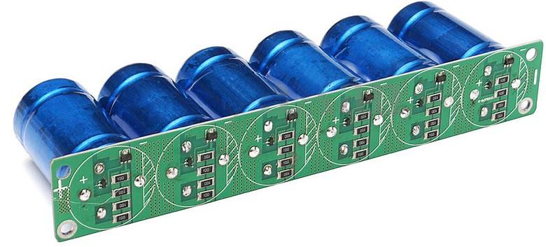 Солнечная батарея на балконе: тестирование батареи ионисторов