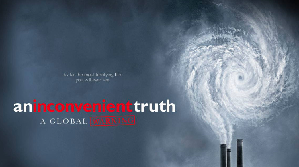 an analysis of the global warming threat by al gore in the film inconvenient truth