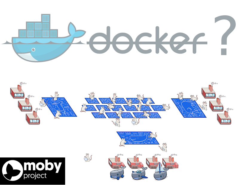 В чём суть проекта Moby и почему главным репозиторием Docker вдруг стал moby/moby?