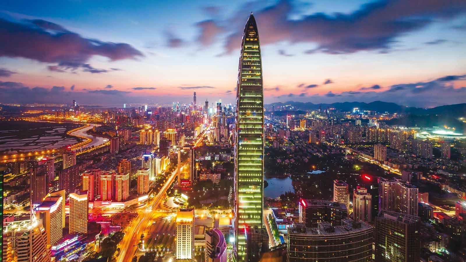 Шэньчжэнь: от 30-тысячного посёлка до 11-миллионного города будущего
