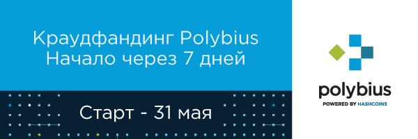 Пошёл обратный отсчёт: до ICO «Полибиуса» осталось 7 дней