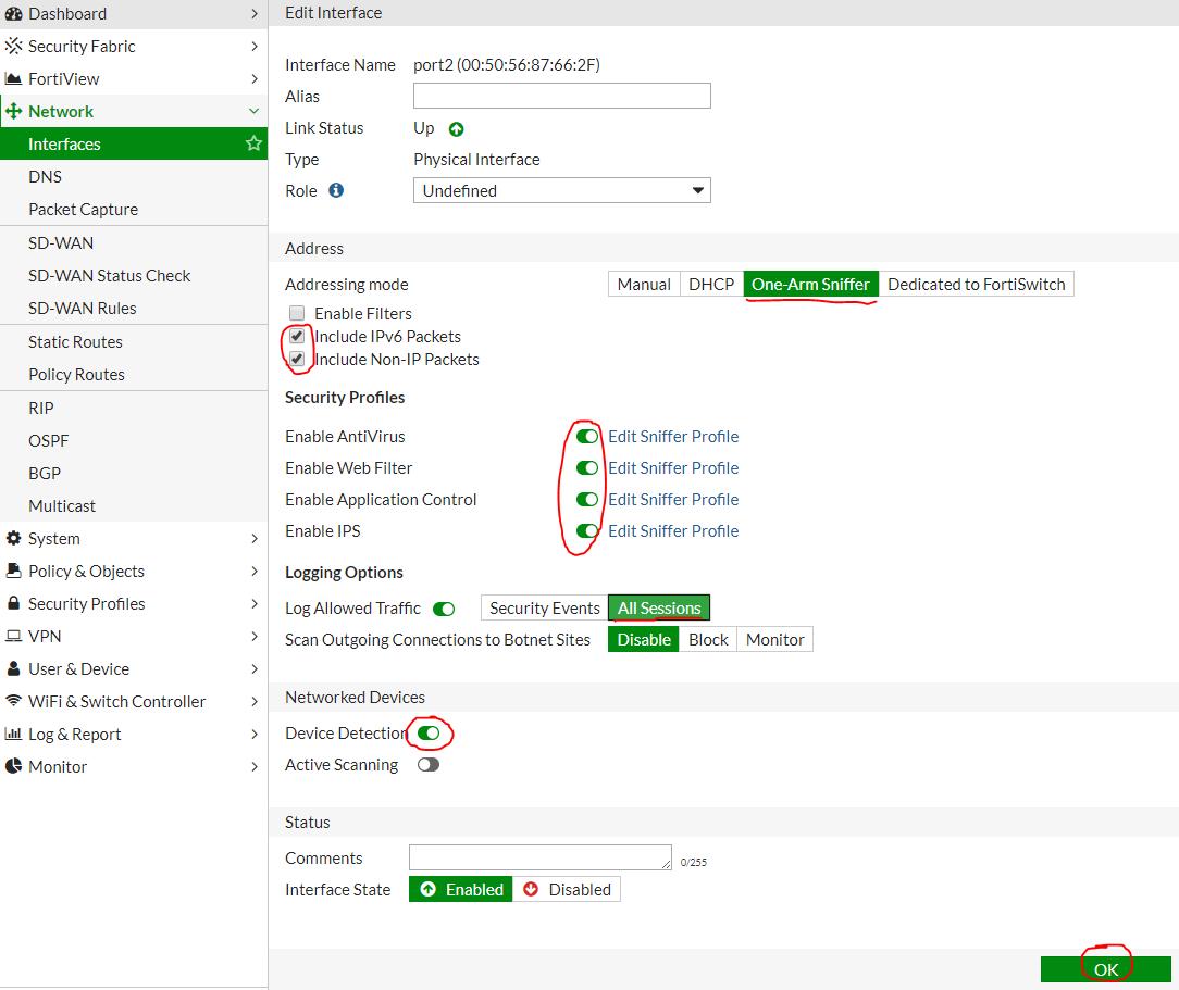 Бесплатный аудит безопасности сети с помощью Fortinet  Часть