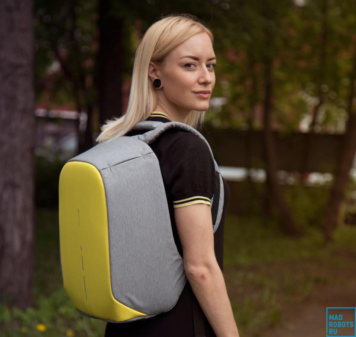 Bobby Compact — новое поколение «противоугонного» рюкзака