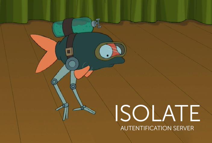 Enjoy! Сервер аутентификации Isolate в Open Source