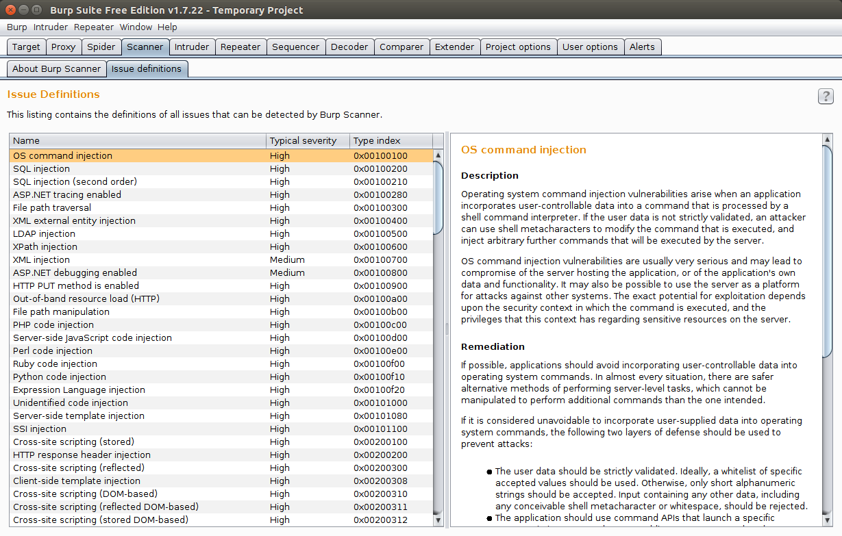 Burp Suite: Swiss Army Knife for Testing Web Applications