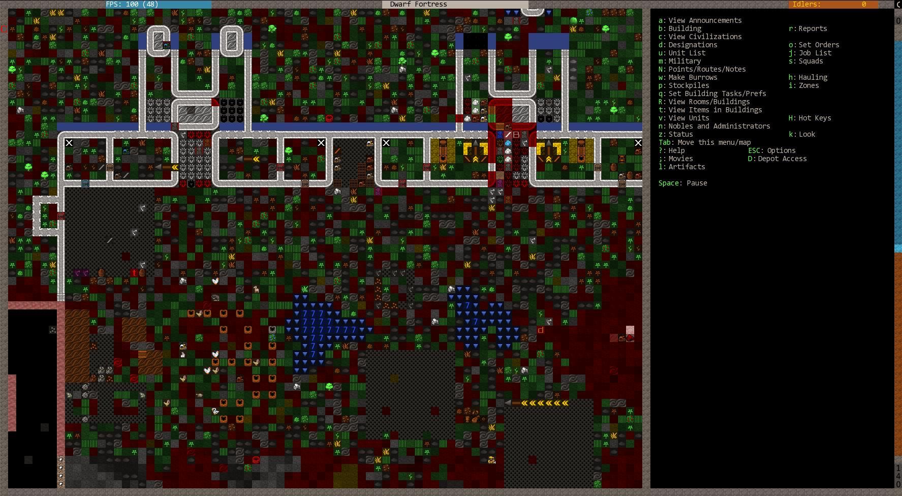 Почему во время apt-get upgrade запускается игра Dwarf Fortress?