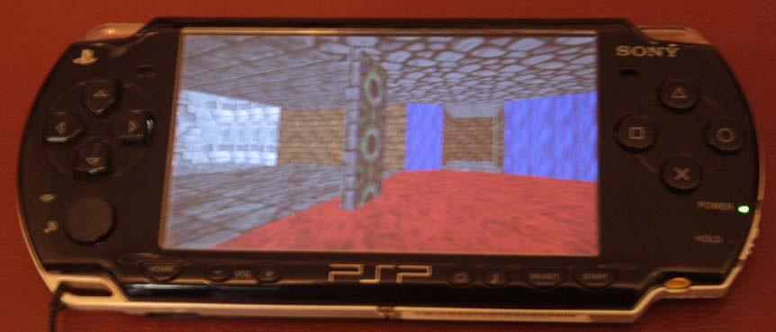 Отображение трёхмерной графики на PSP