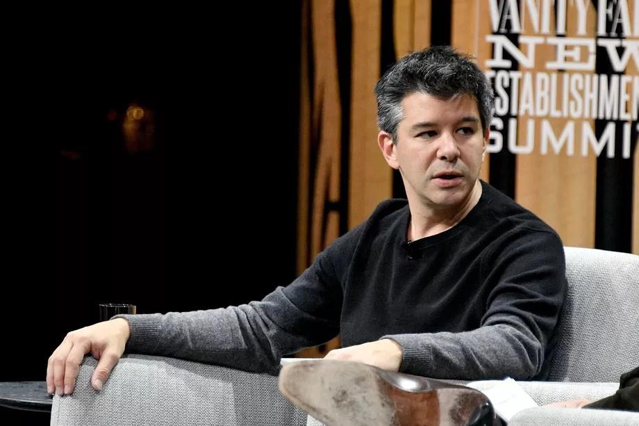 Трэвис Каланик ушёл с поста главы Uber