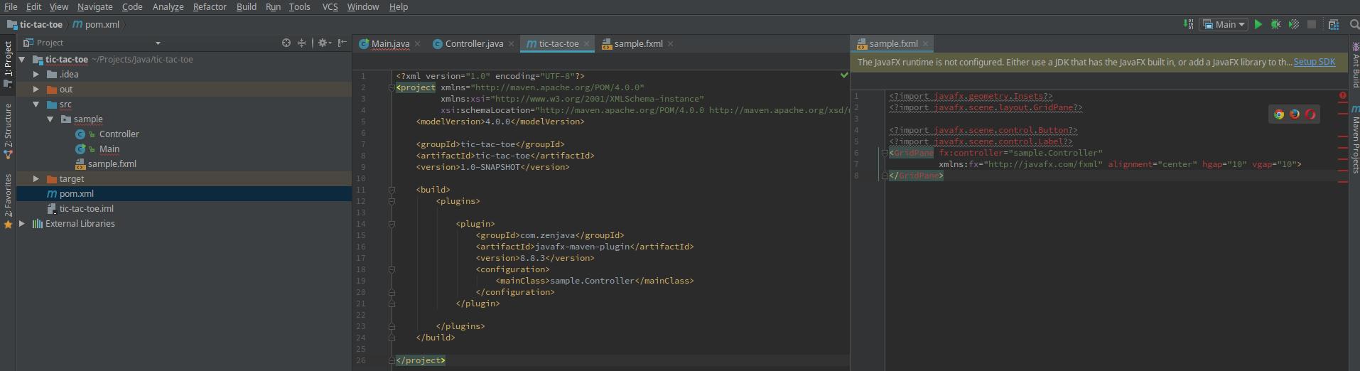 Как подключить javafx в IntelliJ IDEA? — Toster ru
