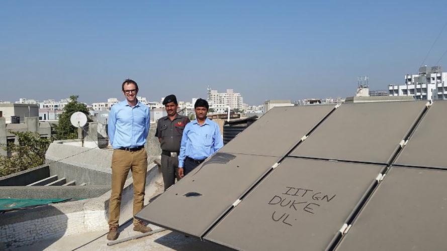 Загрязнение солнечных панелей уменьшает их выработку до 35%
