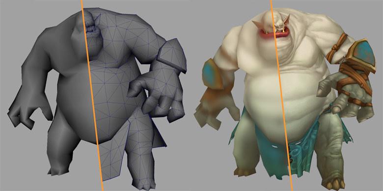 Разработка персонажей для игры «Аллоды Онлайн»