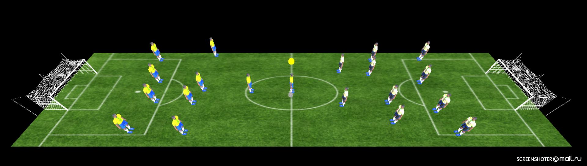 Как я браузерный 3D-футбол писала. Часть 1