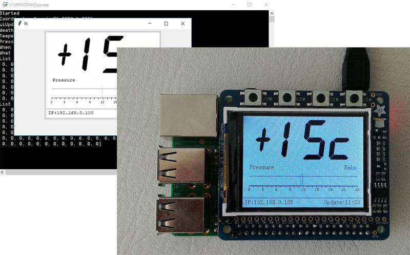 Кроссплатформенная разработка погодной станции для Raspberry Pi