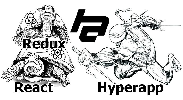 Hyperapp для беженцев с React/Redux