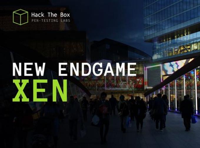 HackTheBox endgame. Прохождение лаборатории Xen. Пентест Active Directory