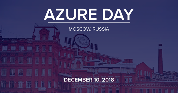 Azure Day Conference in Moscow