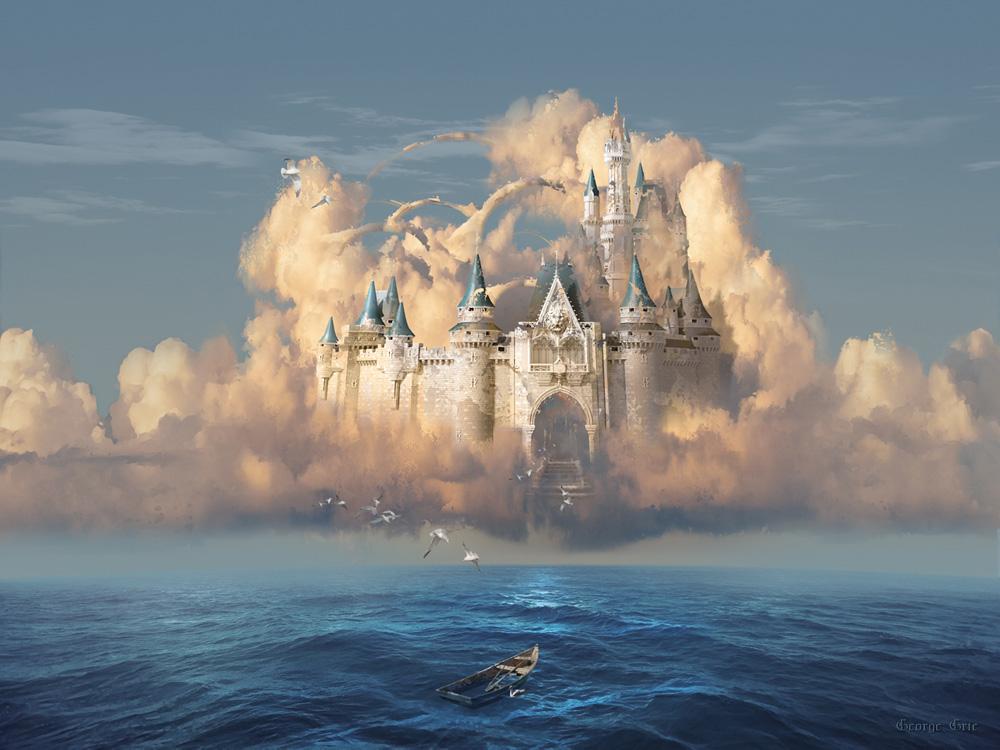 картинки замки из облаков вас