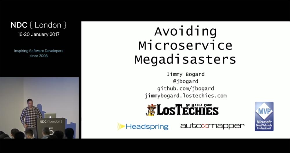 Перевод Kонференция NDС London. Предотвращение катастрофы микросервисов. Часть 1