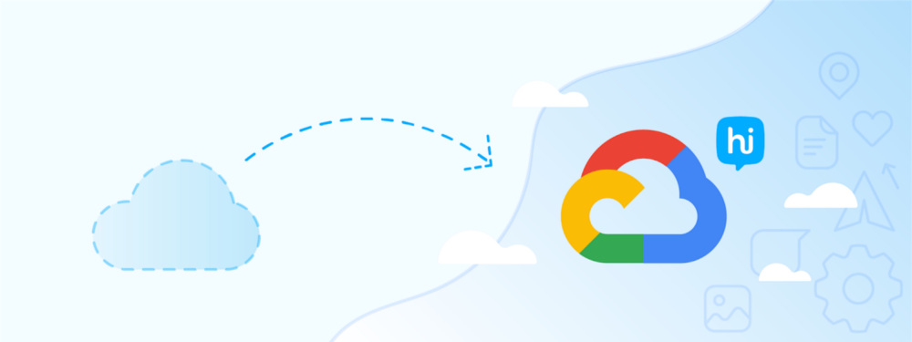 The transition to the Google Cloud platform (Google Cloud Platform - GCP)