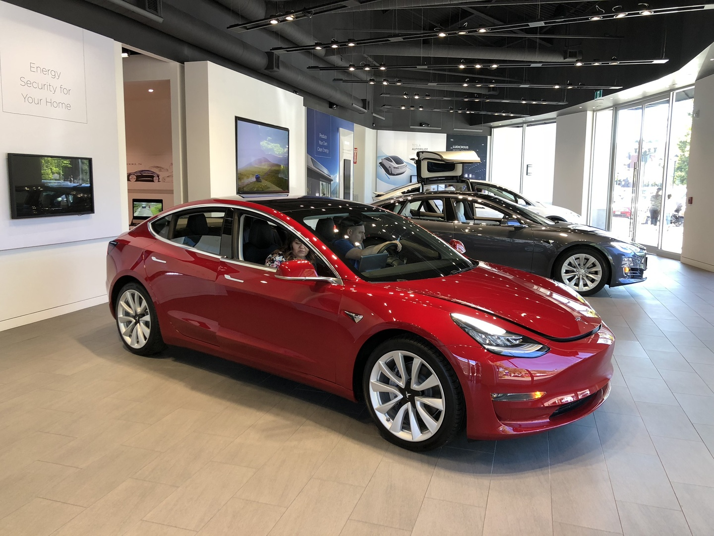 The new record of Tesla Model 3