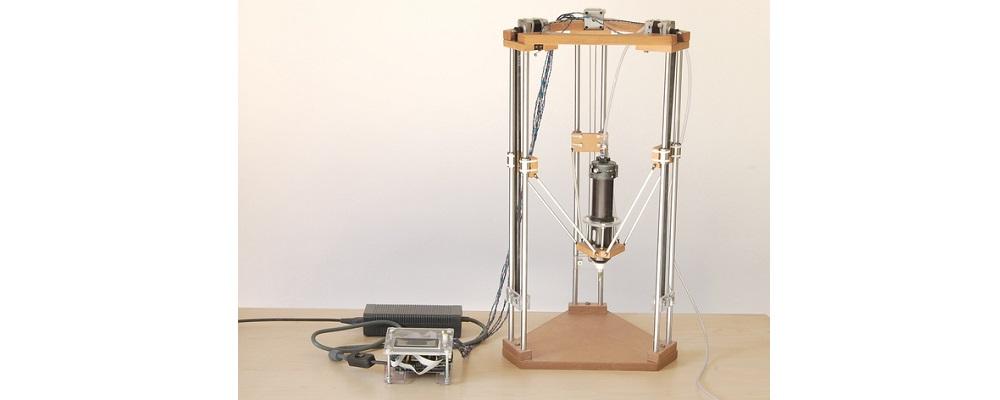 Дельта 3D-принтер для керамики своими руками