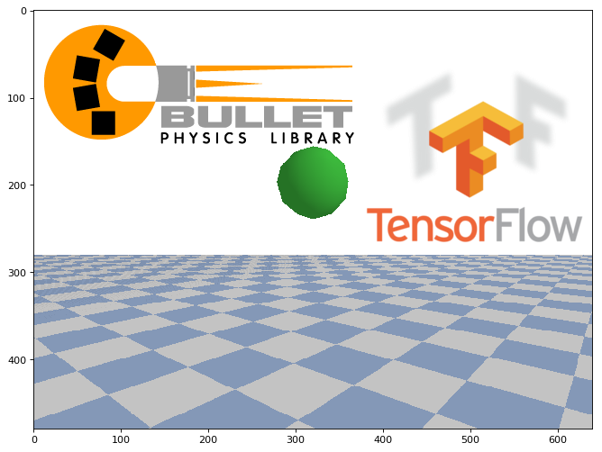 Training with reinforcement in the environment of PyBullet