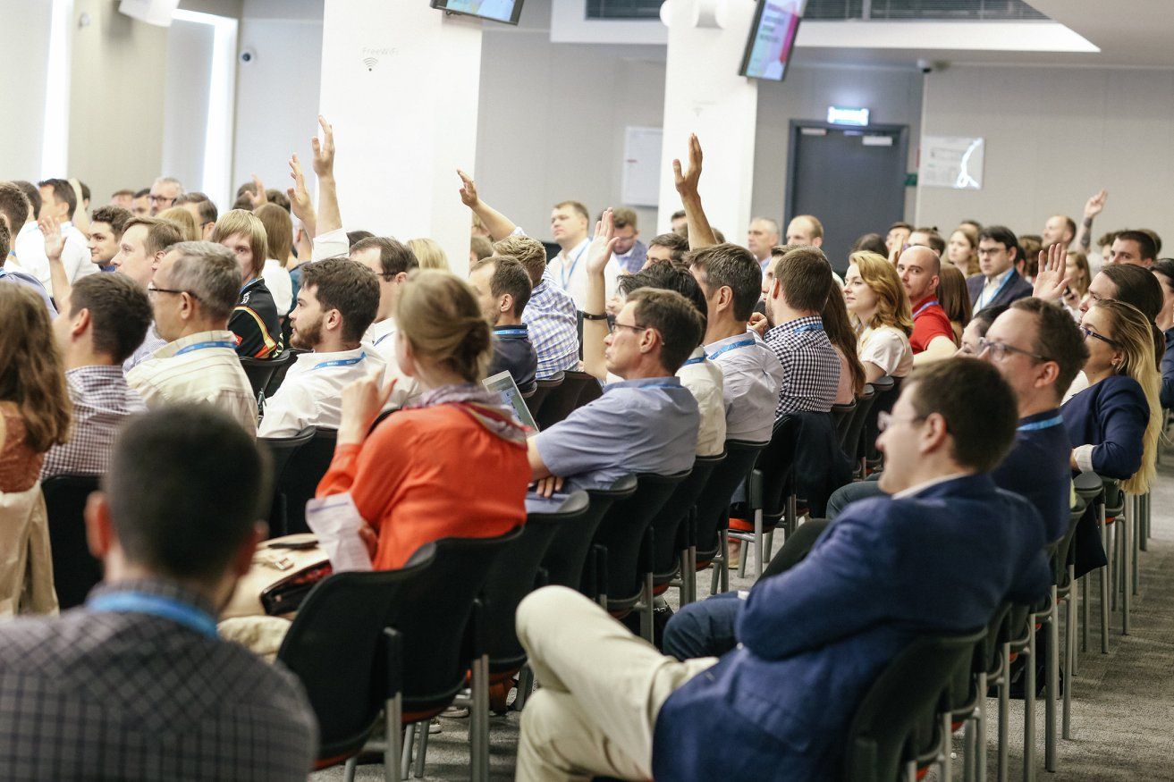 Conference FRE: corporations are not vs startups