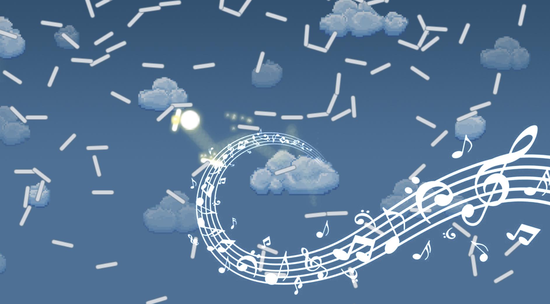 Из песочницы Как сгенерировать музыку с помощью физической симуляции