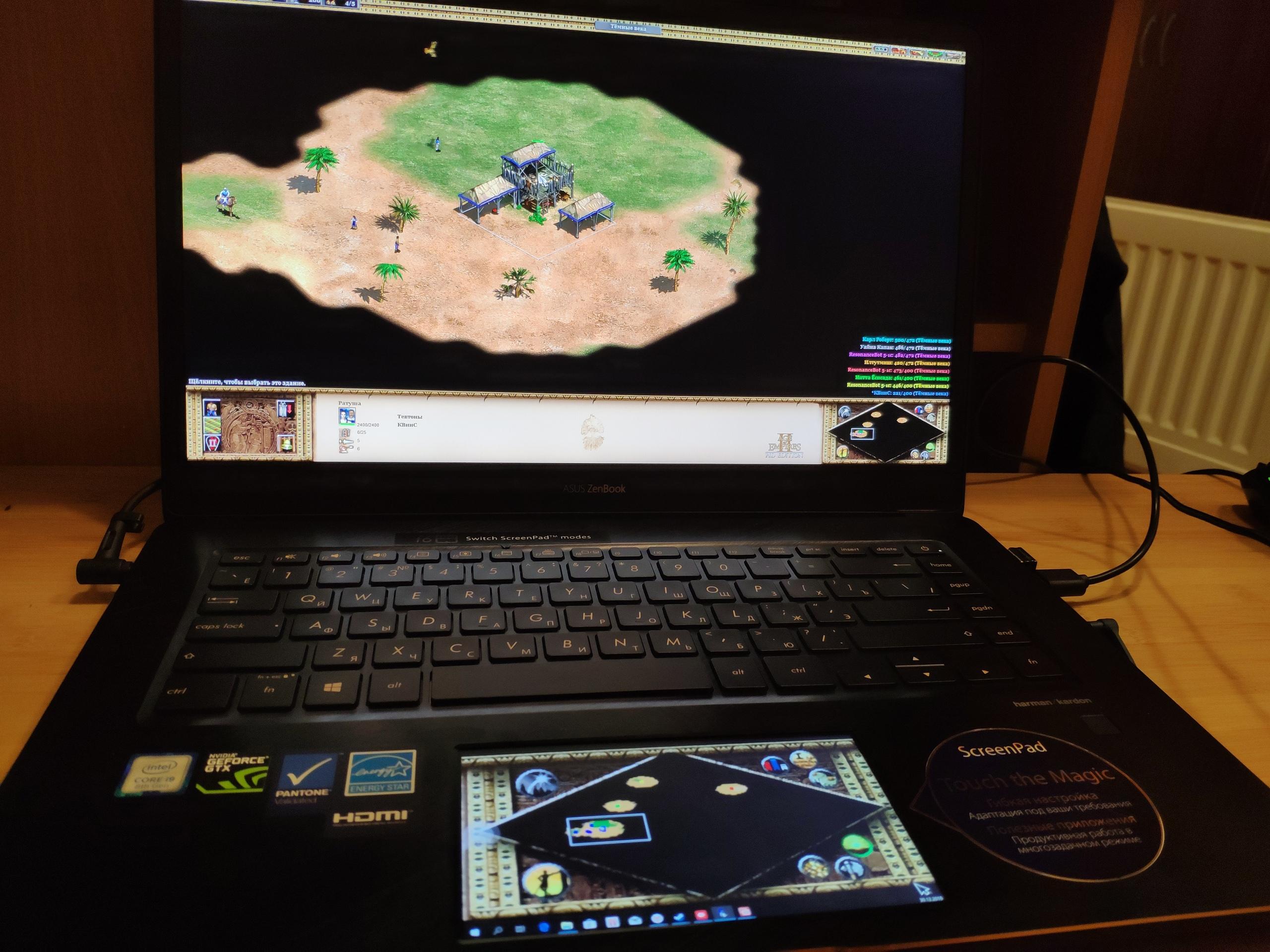Не обзор ASUS ZenBook Pro 15 UX580GE — почти год с почти топом
