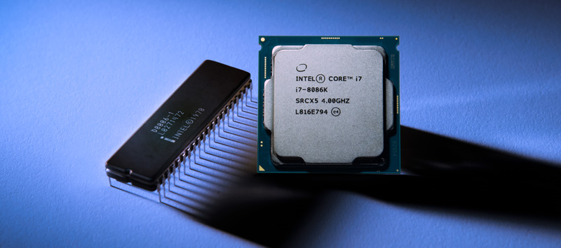 Intel Core i7-8086K - jubilee processor with a frequency of 5 GHz
