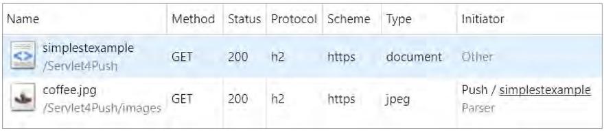 Servlet 4.0: Делаем больше быстрее. Server Push