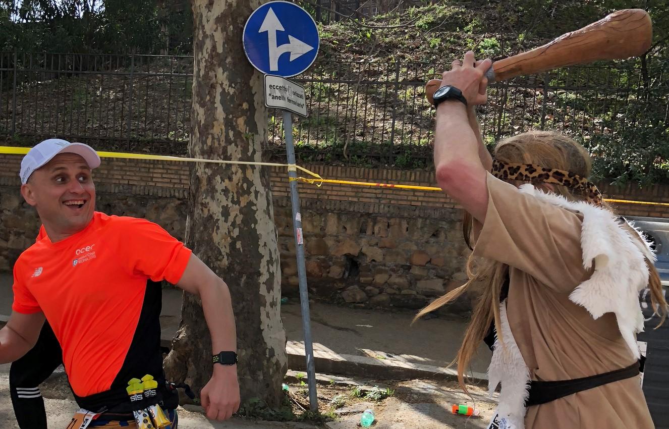 [Хабра-оффтоп] Maratona di Roma, или первый марафон для ИТ-шника
