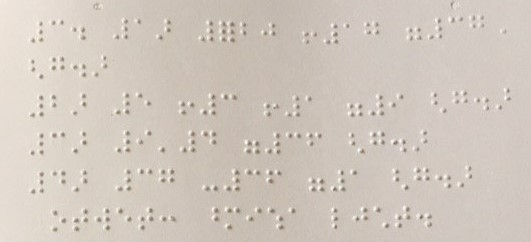 Braille Cyryllic Letters