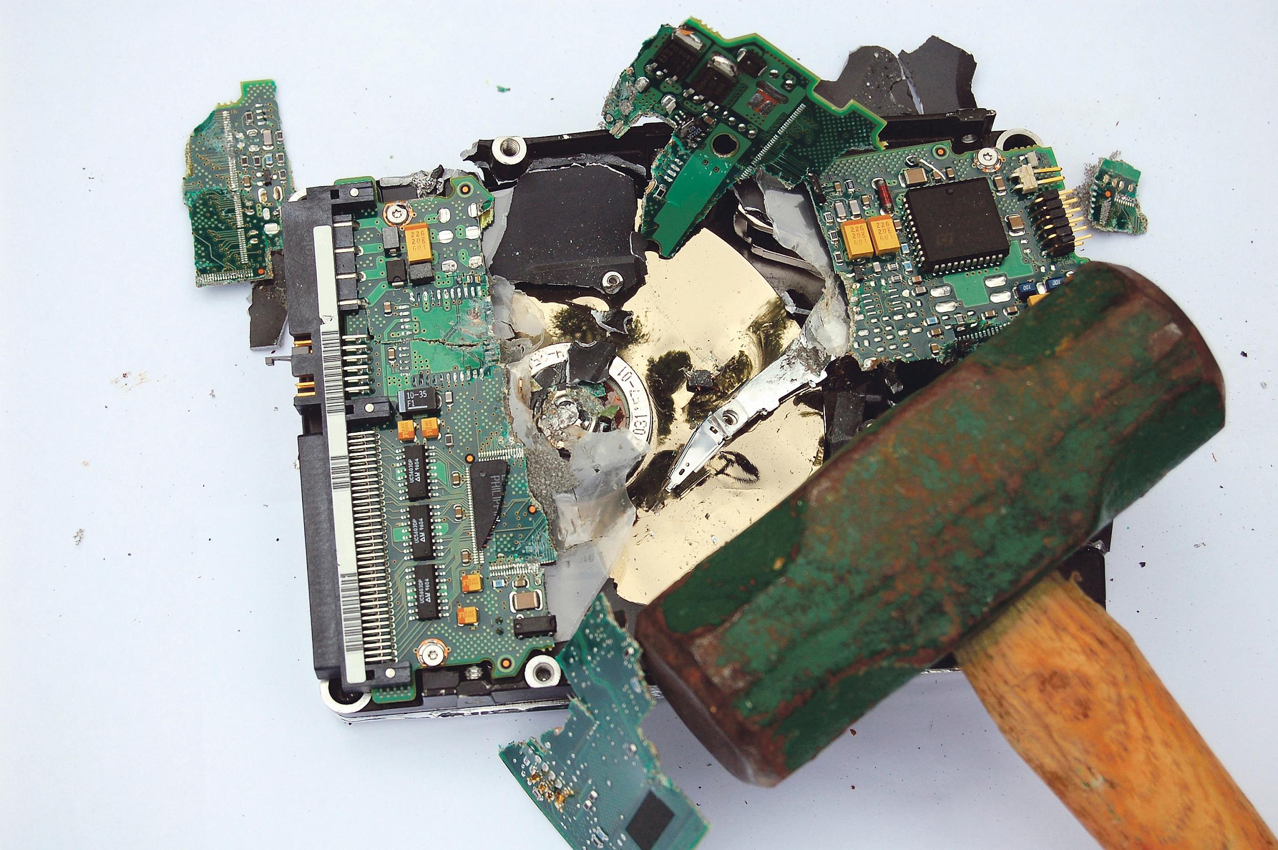 Технологии противоударной защиты жестких дисков
