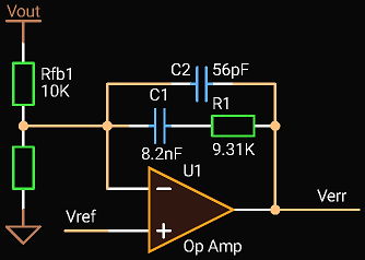 'Circuit Calculator', Type 2 compensation with Op Amp