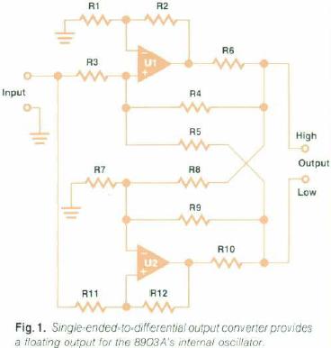 HP 8903, Output Driver, Idea