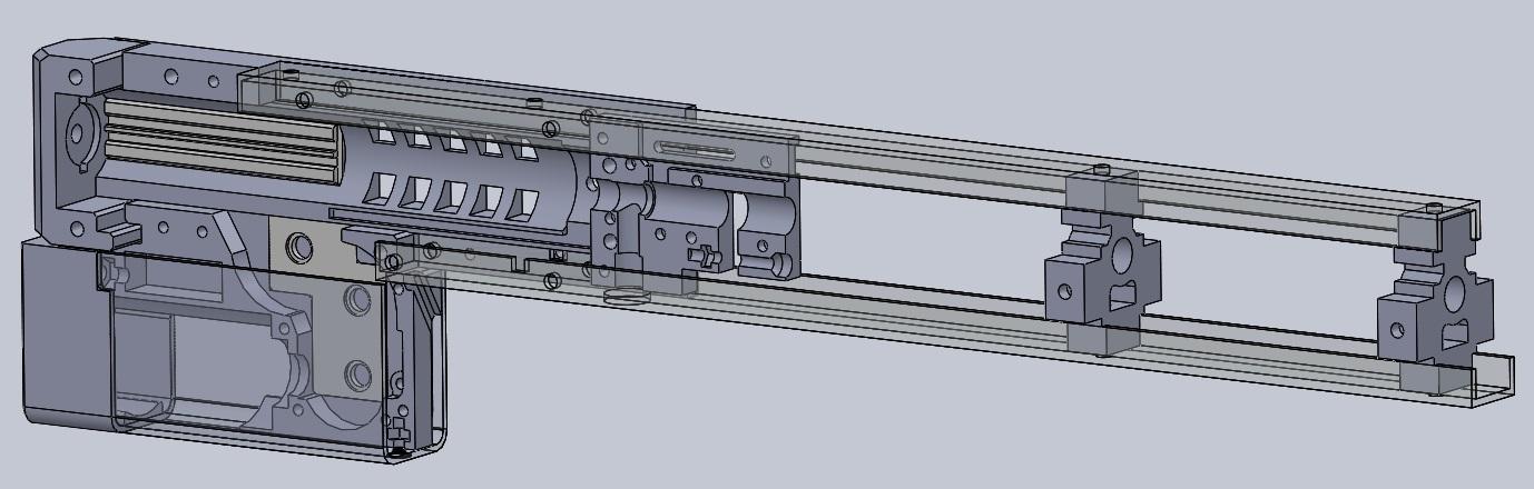 3D-печать и airsoft: как я печатал «привод»