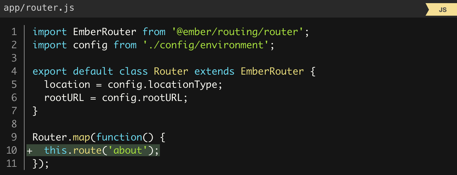 router about