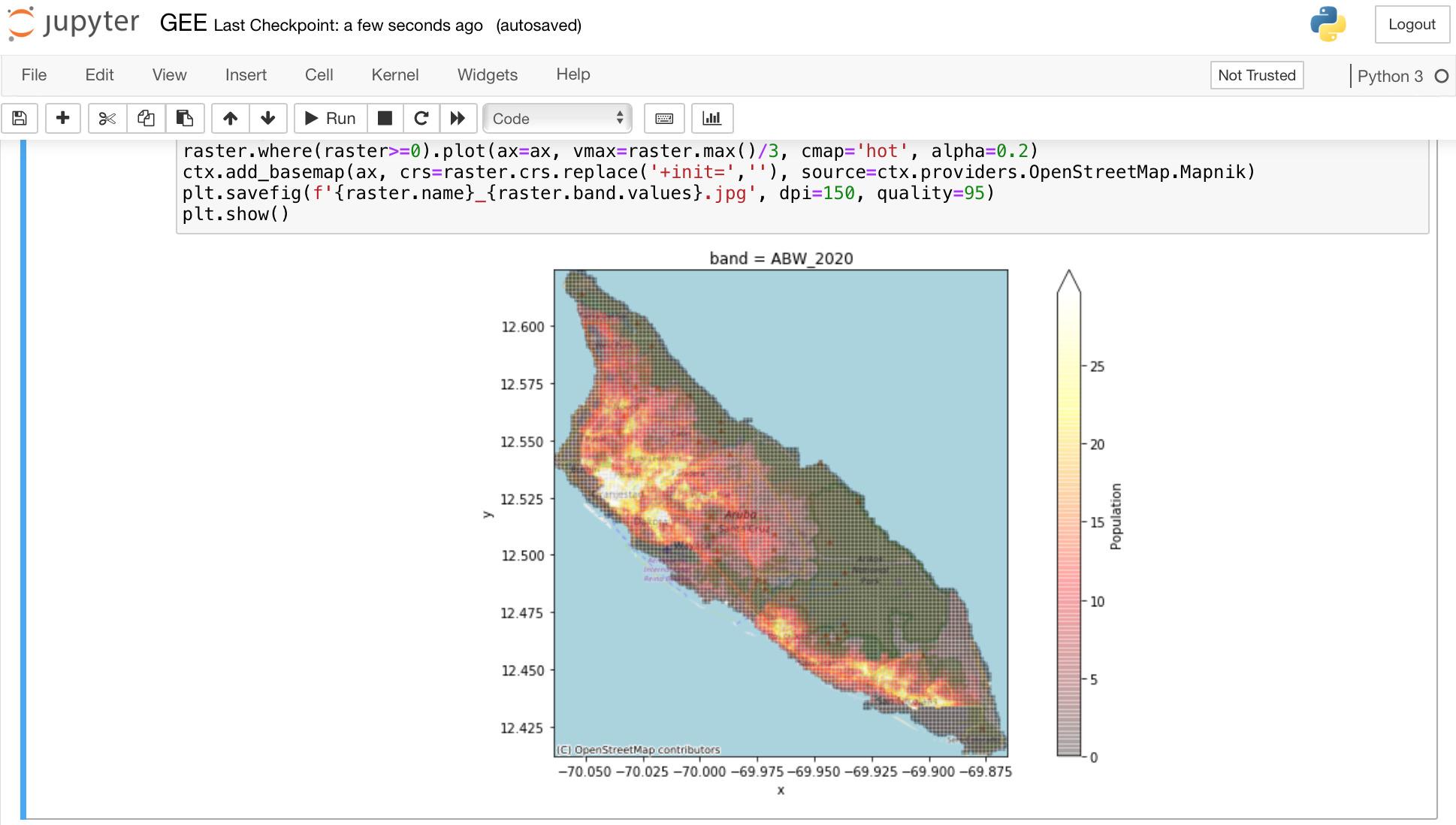 Google Earth Engine (GEE) как общедоступный каталог больших геоданных