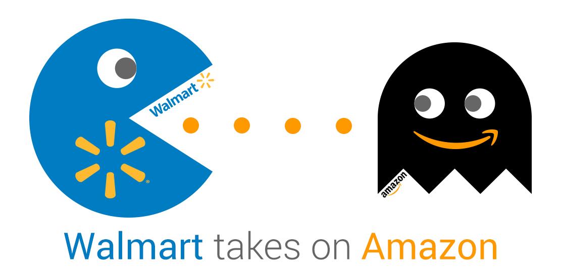 Walmart объявляет Amazon войну цен