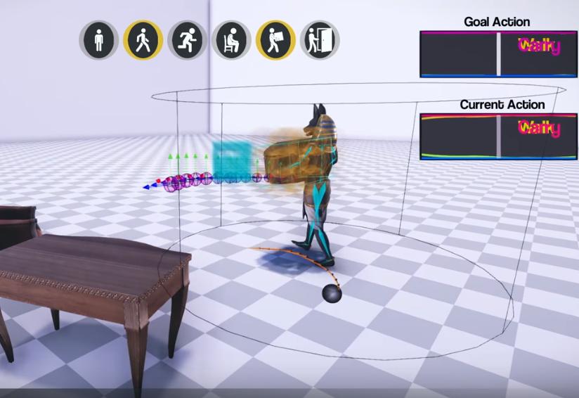 Реалистичная анимация персонажей в играх с помощью ИИ