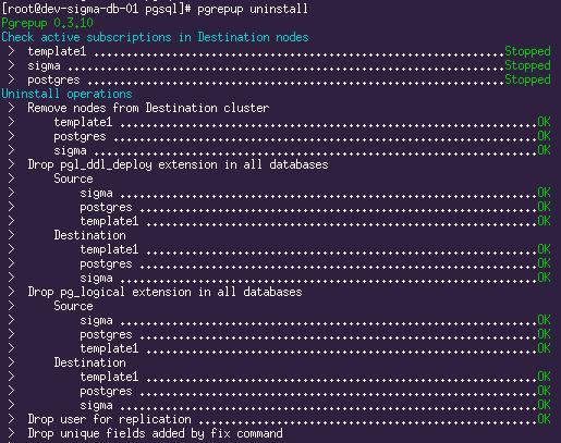 Seamless (almost) migration between PostgreSQL major
