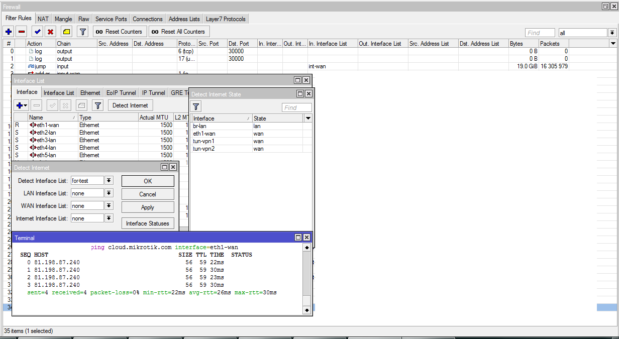 Гайд по Interface List в MikroTik / Хабр
