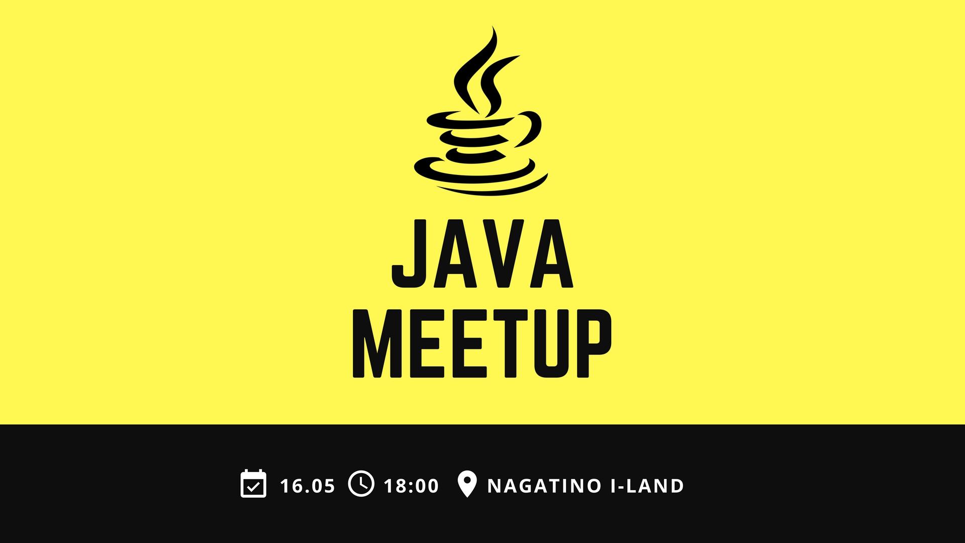 Looking for speakers in Java MeetUp