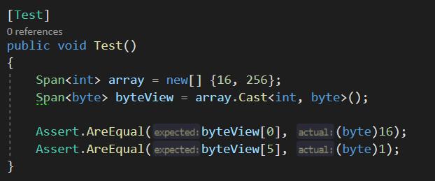 Unsafe.AsSpan: Span<T> как замена указателям?
