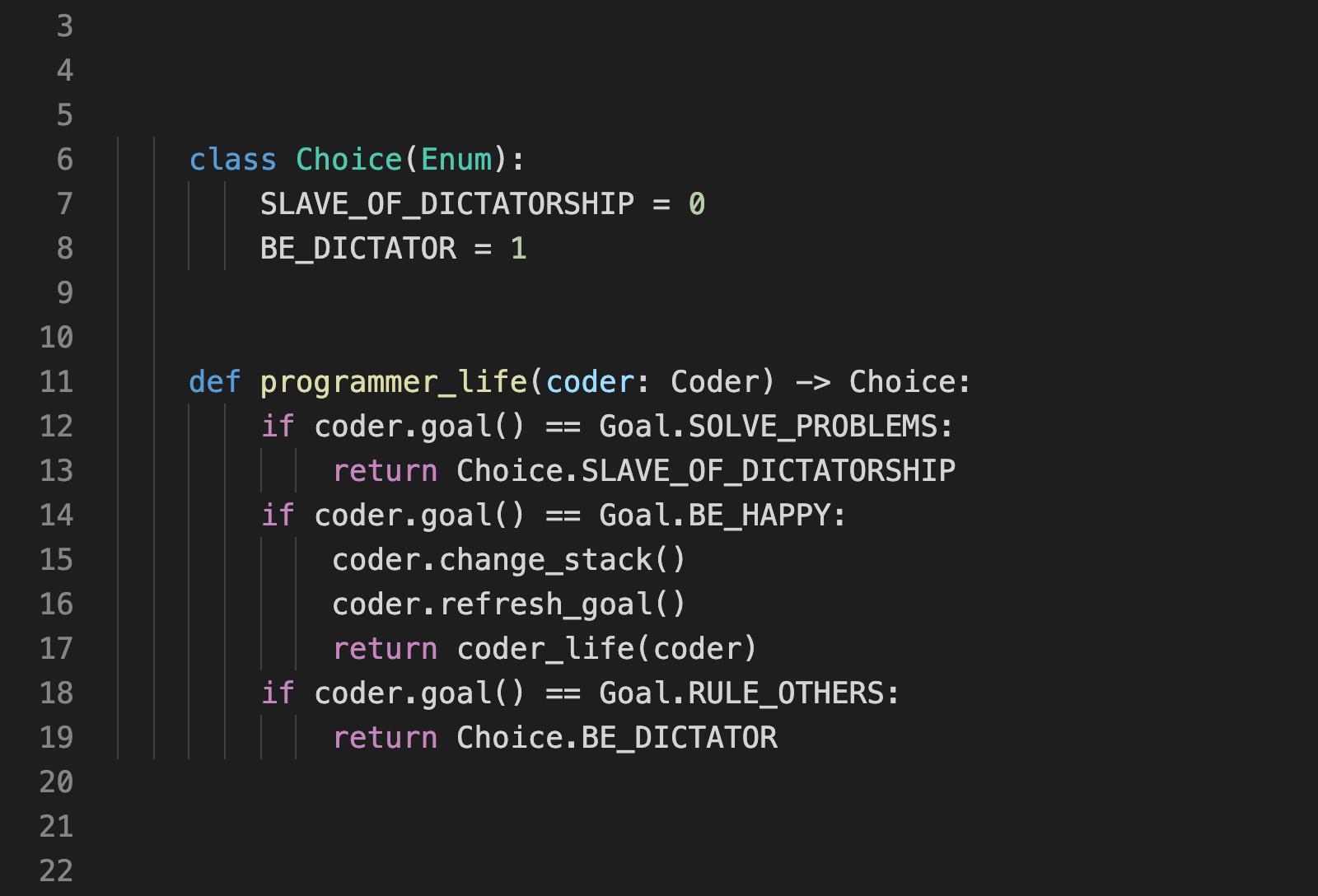 Мне надоело, что индустрия зависит от прихоти создателей языков программирования. Сообществу нужно больше власти