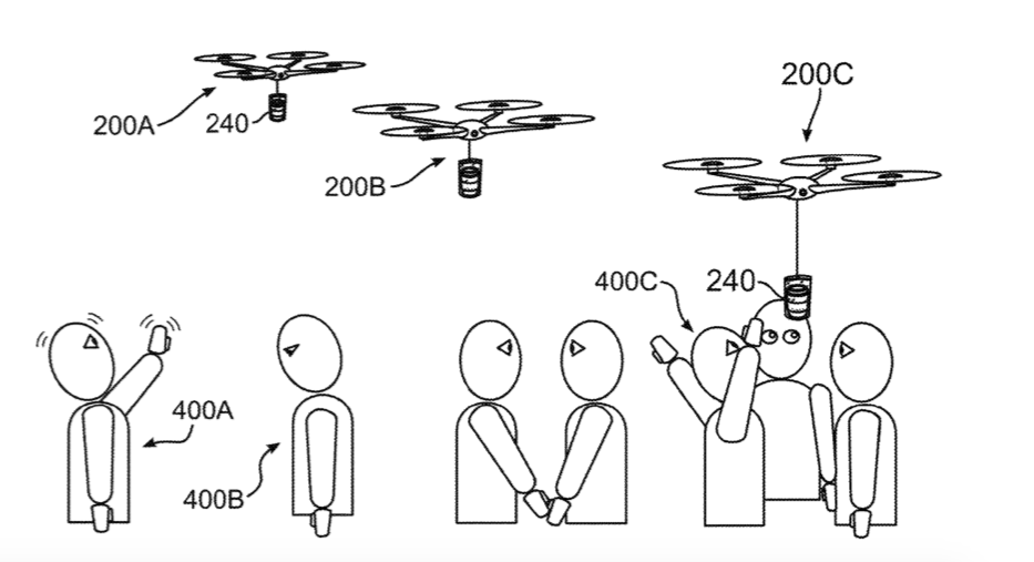 IBM patents drones, which distinguish emotions and bring people coffee. And about what else to write on Friday?