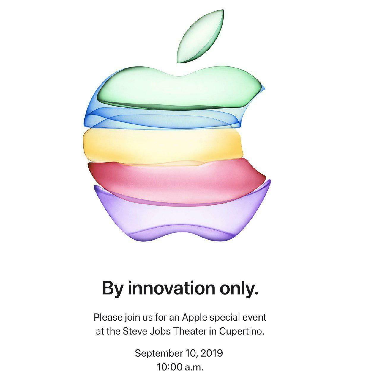 Текстовая трансляция Apple — 10 сентября 2019 года
