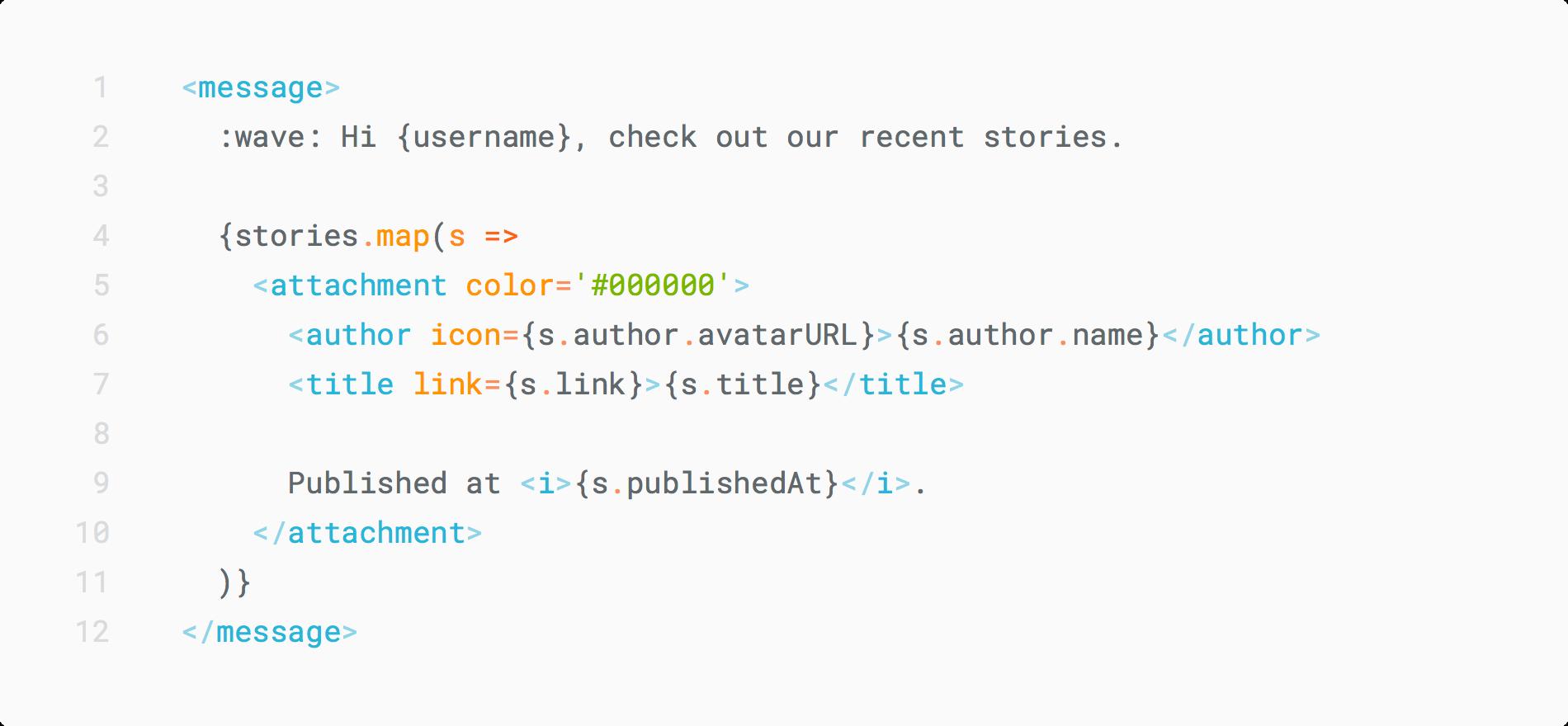 Typed DSL in TypeScript of JSX