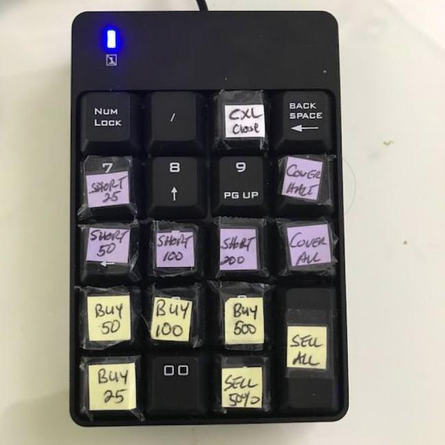 Handmade: Программируемая клавиатура для онлайн-трейдинга своими руками